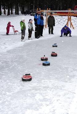 Curling Himoksessa